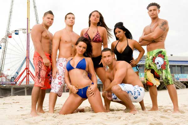 jersey shore characters names