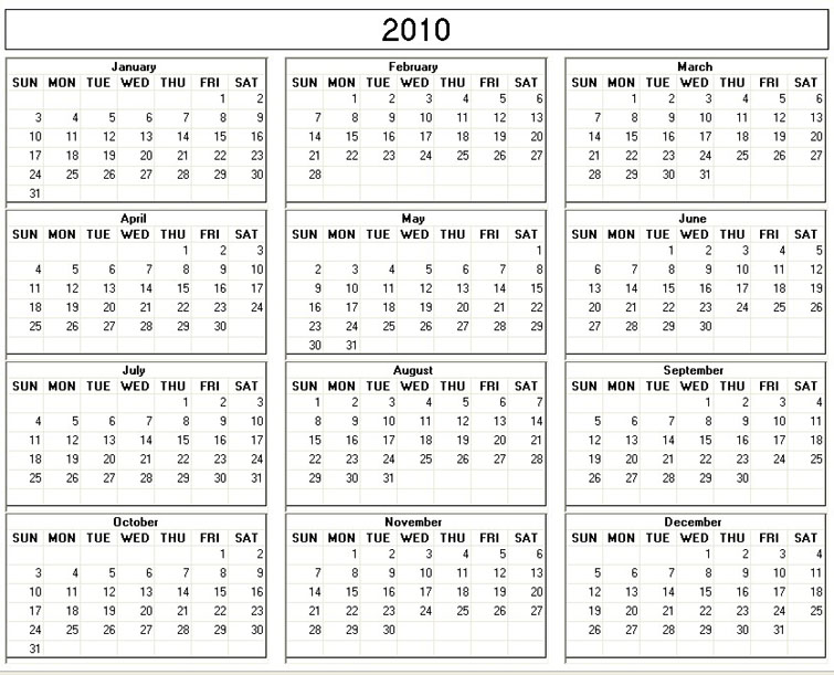 The Year in Review: 2010 (Part I) | The Brown Tweed Society