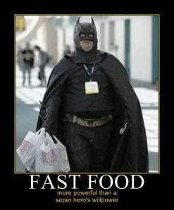 Fast Food Batman